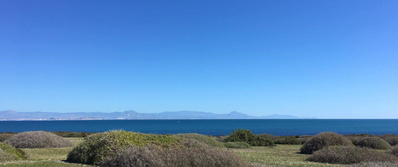 vue d'Alicante depuis Tabarca